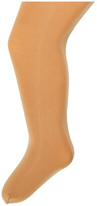 Bloch Kids Contoursoft Footed Tights (Toddler/Little Kids/Big Kids Tan) Hose