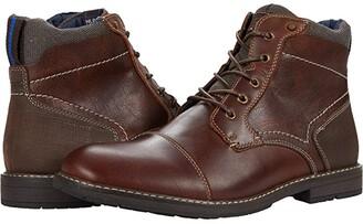 Nunn Bush Fuse Cap Toe Chukka Boot (Black Multi) Men's Boots