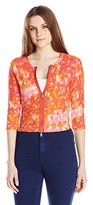 Tracy Reese Women's Zip Cardigan