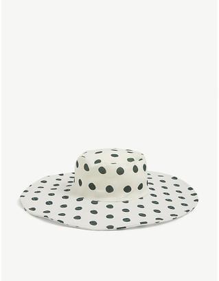 Peony Swimwear Polka dot sun hat
