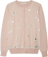 Stella McCartney Mabel sequin cardigan 4-14 years