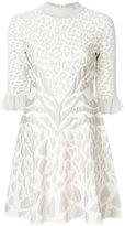 Roberto Cavalli short animal print dress