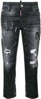 DSQUARED2 Stretch denim tomboy jeans - women - Cotton/Spandex/Elastane - 38