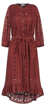 Roseanna Knee-length dress