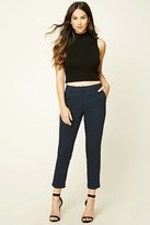 Forever 21 FOREVER 21+ Tapered Cuffed Trousers