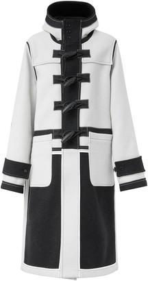 Burberry Two-Tone Duffle Coat