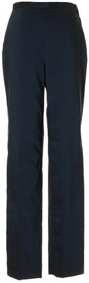 Philosophy di Alberta Ferretti Navy Viscose Trousers