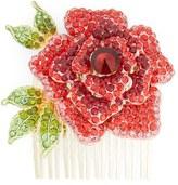 Cara Rose Crystal Hair Comb