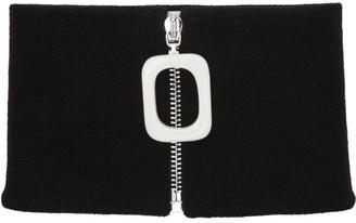J.W.Anderson Black Neckband Scarf