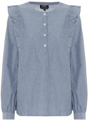 A.P.C. Noemie striped blouse