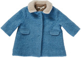 Caramel Baby & Child Larimar Fur Collar Coat
