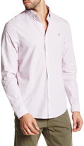 Original Penguin Long Sleeve Core Stripe Slim Fit Shirt