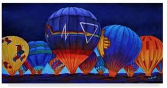 CAROL J. Trademark Fine Art Rupp 'The Glow' Canvas Art