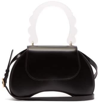 Simone Rocha Bean Leather Handbag - Womens - Black