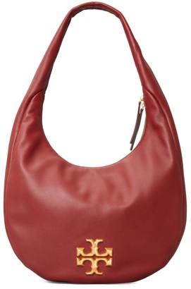 Tory Burch Kira Leather Hobo Bag