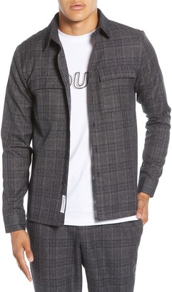 NATIVE YOUTH Umbra Plaid Button-Up Shirt