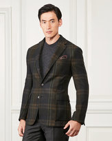 Ralph Lauren Plaid Cashmere Shirt Jacket