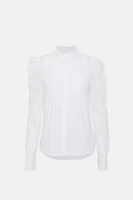 custommade Hania Shirt In White - S