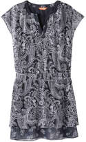 Joe Fresh Women's Paisley Dress, Dark Navy (Size XL)