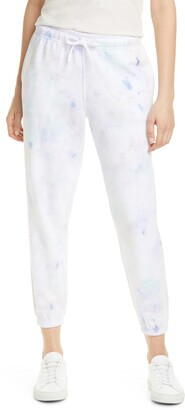 Polo Ralph Lauren Pastel Paint Splatter Ankle Jogger Pants