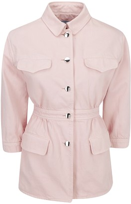 Prada Buttoned Fitted Waist Jacket
