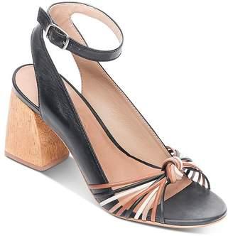 Bernardo Women's Ankle Strap Chunky-Heel Sandals