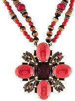 Erickson Beamon Embellished Pendant Necklace