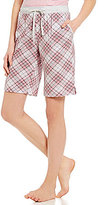 Karen Neuburger Plaid Bermuda Sleep Shorts