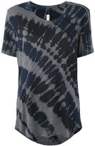 Raquel Allegra tie-dye T-shirt - women - Cotton/Polyester - 2