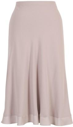 Chesca Satin Crepe Skirt