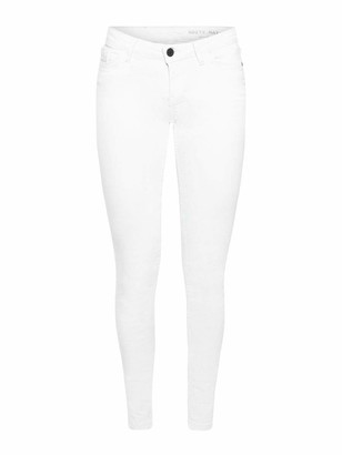 Noisy May Women's Nmeve Lr Pckt Piping Jeans Noos Slim