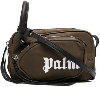 Palm Angels Logo Print Camera Bag