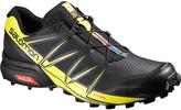 Salomon Black & Corona Yellow Speedcross Trail Running Shoe - Men