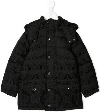 Dolce & Gabbana Kids Padded Baroque Coat