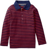 Toobydoo Long Sleeve Polo Shirt (Baby, Toddler, & Little Boys)