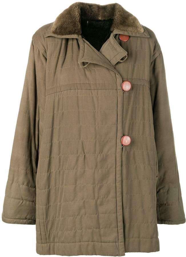 Saint Laurent Pre-Owned 1980's Fourrure coat