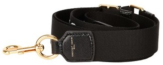 MARC JACOBS, THE Thin MJ Graphic webbing strap