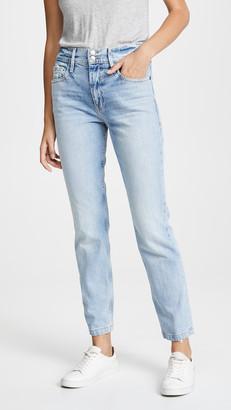 Frame Le Sylvie Slender Straight Heritage Jeans