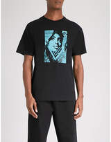 Obey Bias By Numbers Cotton-jersey T-shirt