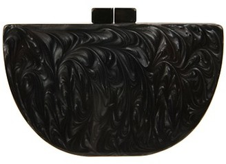 Lulu Kaden Structured Half Moon Bag