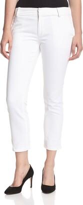 DL1961 Women's Poppy High Rise Slim Straight Trouser