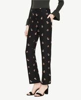 Ann Taylor The Fluid Straight Leg Pant in Shawl Floral