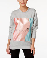 adidas Stellasport Metallic Fleece Sweatshirt