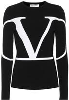 Valentino Logo sweater