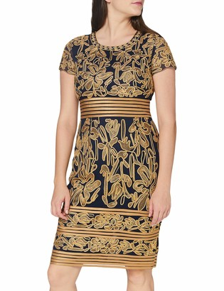 Gina Bacconi Women's Dove Corded Lace Dress Cocktail