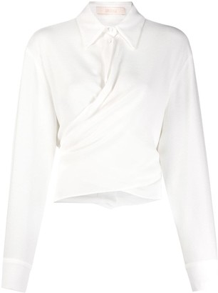 Ssheena Plain Twisted Detail Shirt