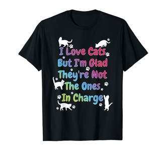 tk.TAKEO KIKUCHI Cute Cat Shirts By I Love Cats But... Funny Saying Cute Color Cat Lover Saying T-Shirt