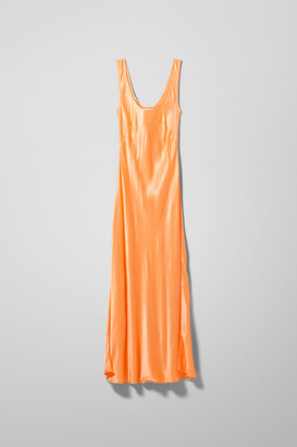 Weekday Noemi Dress - Orange