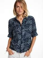 Scotch & Soda Boxy Indigo Shirt
