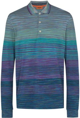 Missoni Long-Sleeve Polo Shirt